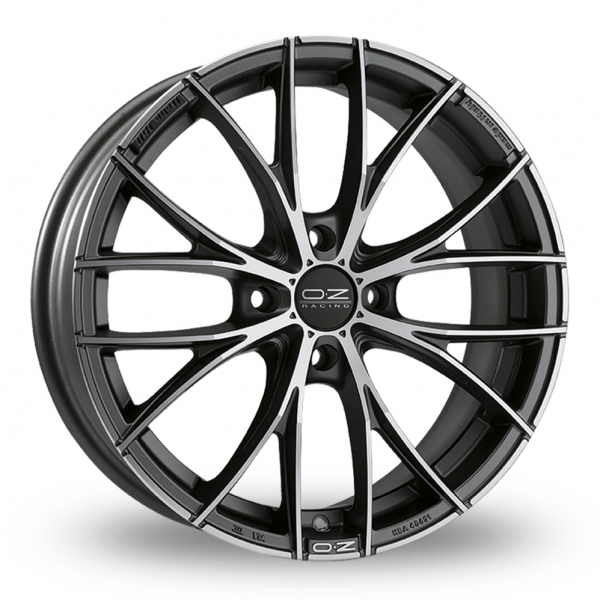 Zoom OZ_Racing Italia_150_4_Stud Graphite_Polished Alloys