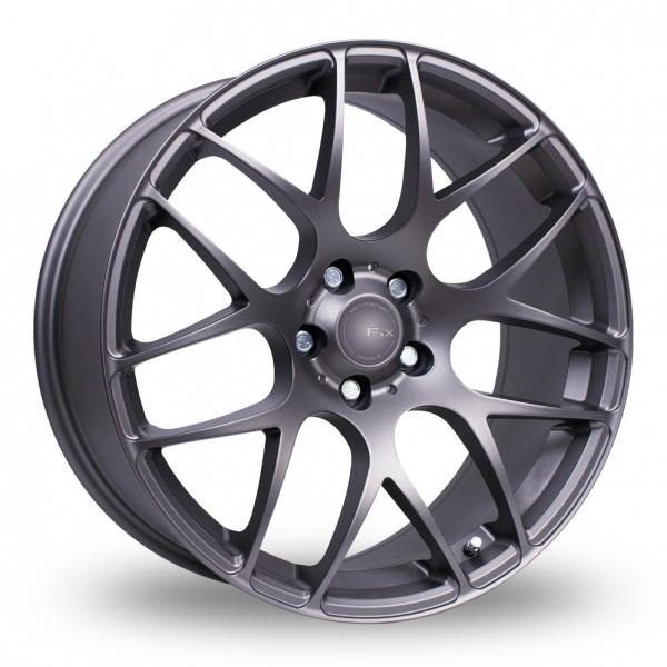 Picture of 19 Inch Fox Motorsport MS007 Carbon Grey Alloy Wheels