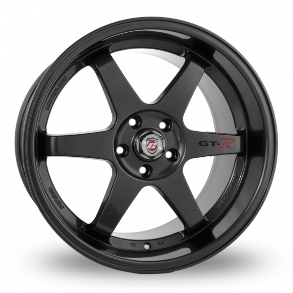 Zoom Calibre GTR_5x114_Wider_Rear Gun_Metal Alloys