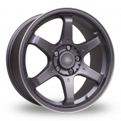 Image for Fox_Racing MS006 Grey Alloy Wheels