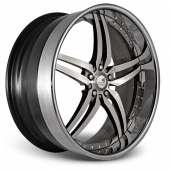 COR Wheels Brava Signature Series Hyper Silver Alloy Wheels