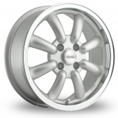 Image for Konig Rewind Silver Alloy Wheels