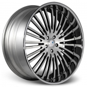 COR Wheels Valhalla Signature Series Black Polished Alloy Wheels