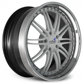 COR Wheels Adrenaline Club Series White Alloy Wheels