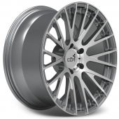 COR Wheels F1 Elevate Competition Series Gun Metal Polished Alloy Wheels