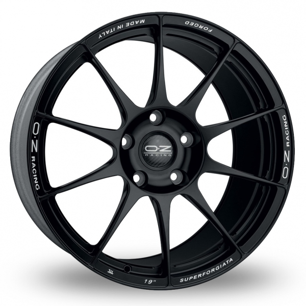 Zoom OZ_Racing Superforgiata Black Alloys