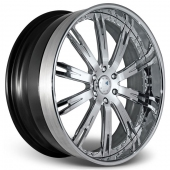 COR Wheels Lladro Signature Series Hyper Silver Alloy Wheels