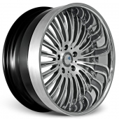COR Wheels Testerossa Signature Series Hyper Silver Alloy Wheels