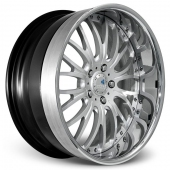 COR Wheels Colonial Signature Series Hyper Silver Alloy Wheels
