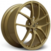 COR Wheels F1 Encor Competiton Series Gold Alloy Wheels