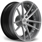 COR Wheels Victory Duobloc II Concave Series Gun Metal Polished Alloy Wheels