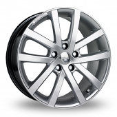 Image for Riva AVS Hyper_Silver Alloy Wheels