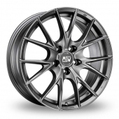 Image for MSW_(by_OZ) 25_5x120_Wider_Rear Matt_Titanium Alloy Wheels