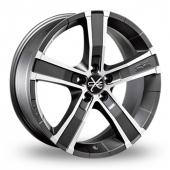Image for OZ_Racing Sahara_5 Graphite_Polished Alloy Wheels