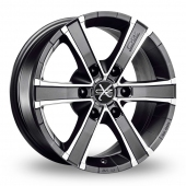 Image for OZ_Racing Sahara_6 Graphite_Polished Alloy Wheels