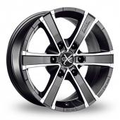 Image for OZ_Racing Sahara_6 Graphite_Polished Alloy Wheels