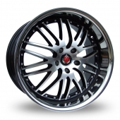 Image for Axe Ex_1ne_Wider_Rear Black_Polished Alloy Wheels