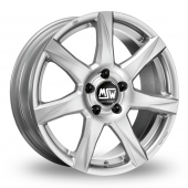 Image for MSW_(by_OZ) 77 Silver Alloy Wheels