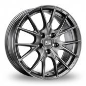 Image for MSW_(by_OZ) 25 Matt_Titanium Alloy Wheels