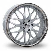 Image for Zito Torino Silver Alloy Wheels