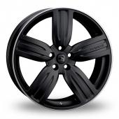 Hawke Aria Black Alloy Wheels