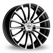 Tekno RX11 Black Polished Alloy Wheels