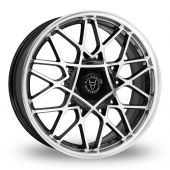Image for Wolfrace Blitz_2 Black_Polished Alloy Wheels