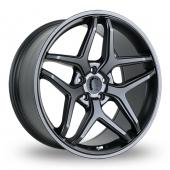 SLCC SLCC 3 Gun Metal Alloy Wheels