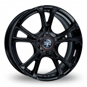 Image for Wolfrace Ultra-Lite_eco_2_0_Wider_Rear Black Alloy Wheels