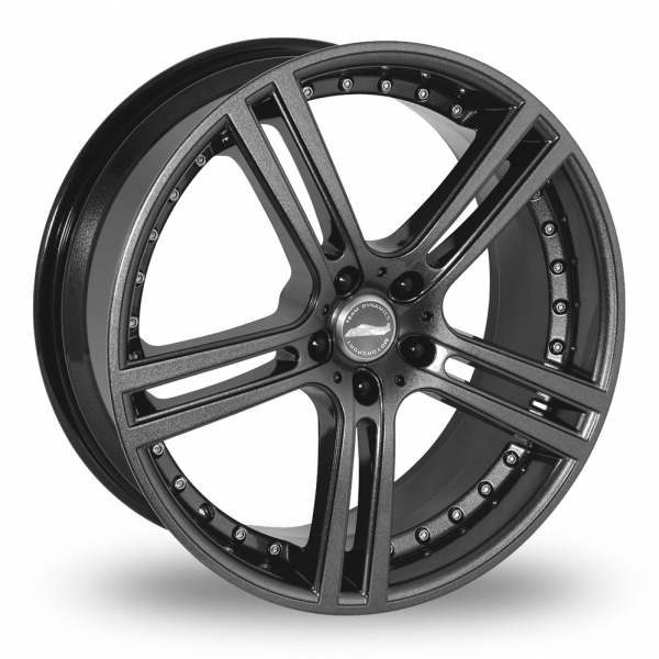 """Picture of 18"""" Team Dynamics Le Mans Gloss Anthracite"""