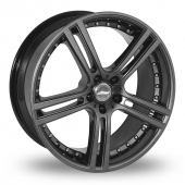 Team Dynamics Le Mans Wider Rear Anthracite Alloy Wheels