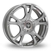 "18"" Wolfrace Ultra-Lite eco 2.0 Gun Metal Alloy Wheels"
