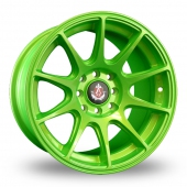 Image for Axe Ex_8ight Green Alloy Wheels