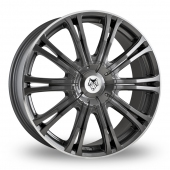 Image for Wolfrace Wolf_Design_Vermont_Sport Gun_Metal Alloy Wheels