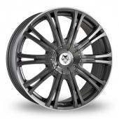 Wolf Design Wolf Design Vermont Sport Gun Metal Alloy Wheels