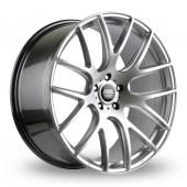 AVA Phoenix Hyper Silver Alloy Wheels