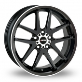 Autec Contest Black Polished Alloy Wheels