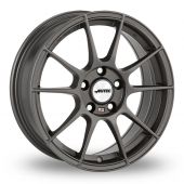 Autec Wizard Gun Metal Alloy Wheels