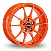 Autec Wizard Orange Alloy Wheels