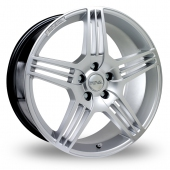 Image for Riva MAG Hyper_Silver Alloy Wheels