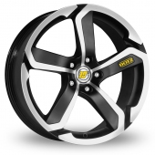 Dotz Hanzo Black Polished Alloy Wheels