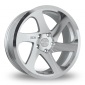 Image for ThreeSDM 0_06_5x120_Wider_Rear Silver_Polished Alloy Wheels