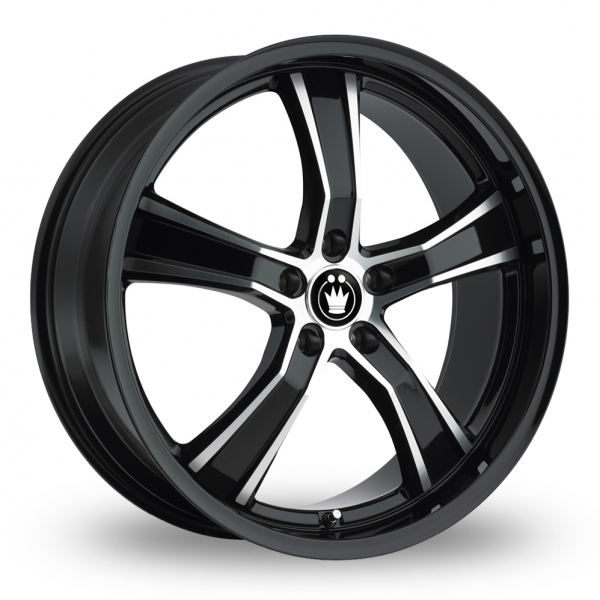 Zoom Konig Airstrike Black_Polished Alloys