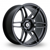 Image for Konig Deception_5x114_Wider_Rear Matt_Black Alloy Wheels