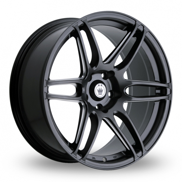 Zoom Konig Deception_5x114_Wider_Rear Matt_Black Alloys