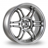 Image for Konig Lightspeed Silver_Polished Alloy Wheels