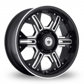 Image for Konig Locknload Black_Polished Alloy Wheels
