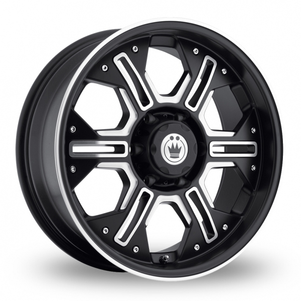 Zoom Konig Locknload Black_Polished Alloys