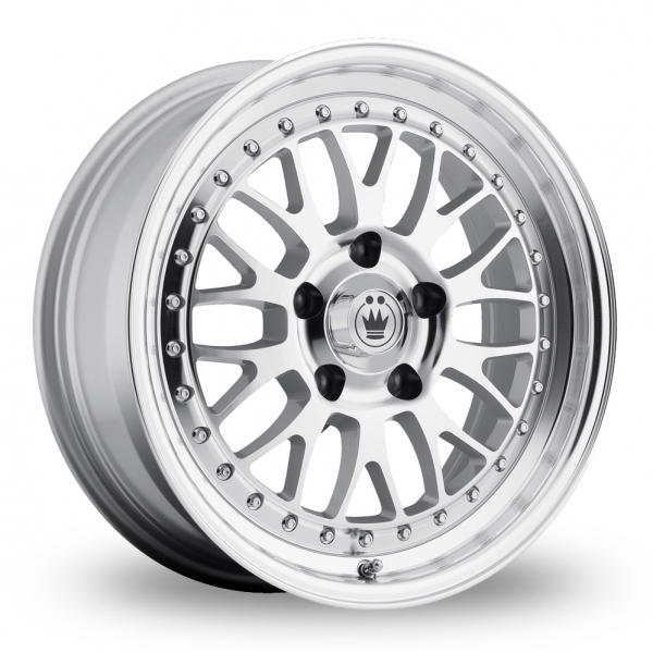 Zoom Konig Roller Silver_Polished Alloys