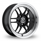Image for Konig Wideopen Black Alloy Wheels